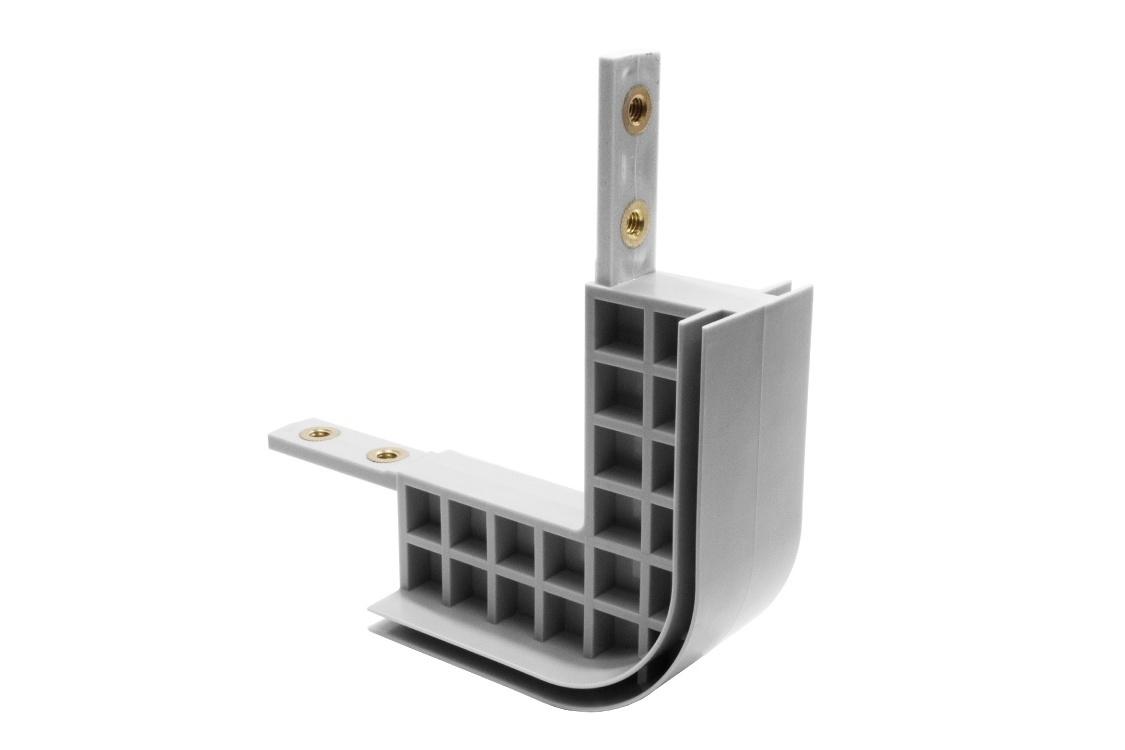 Round frame connector set