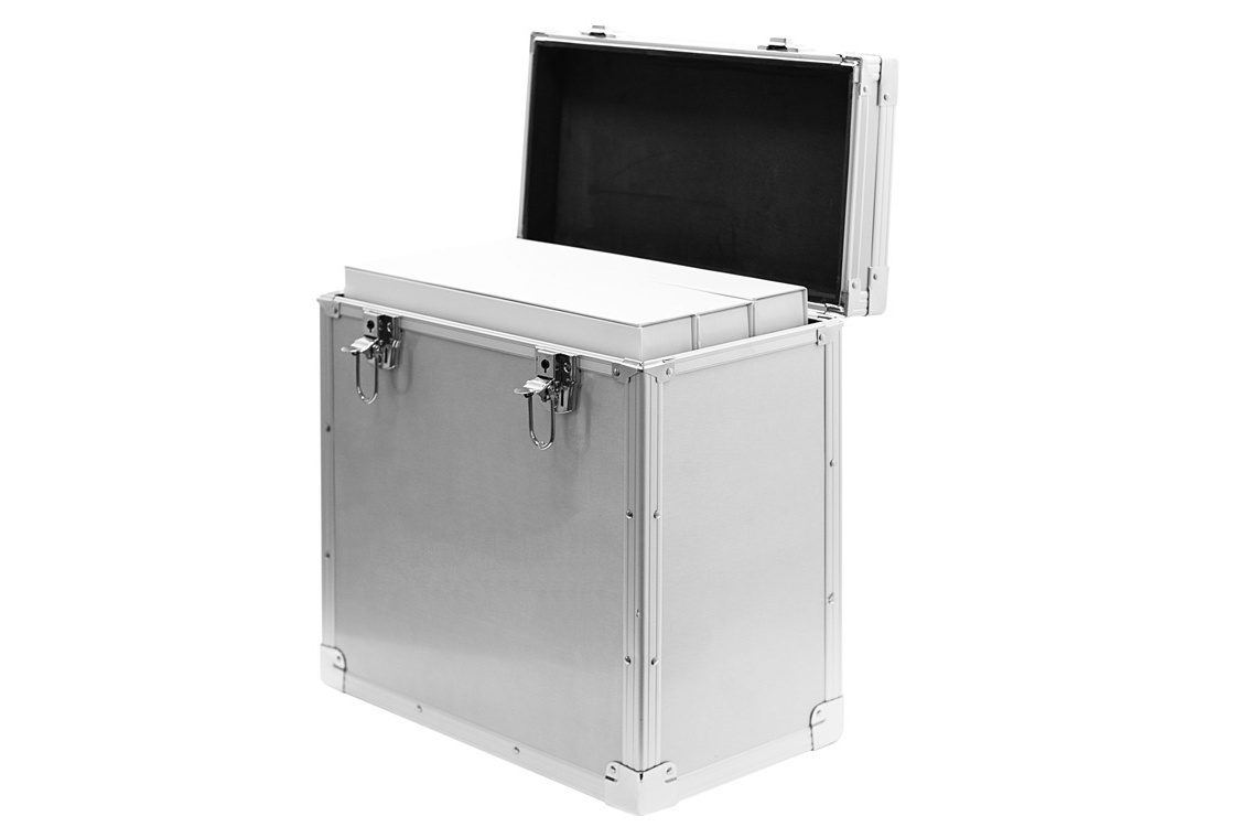 Aluminium sample box