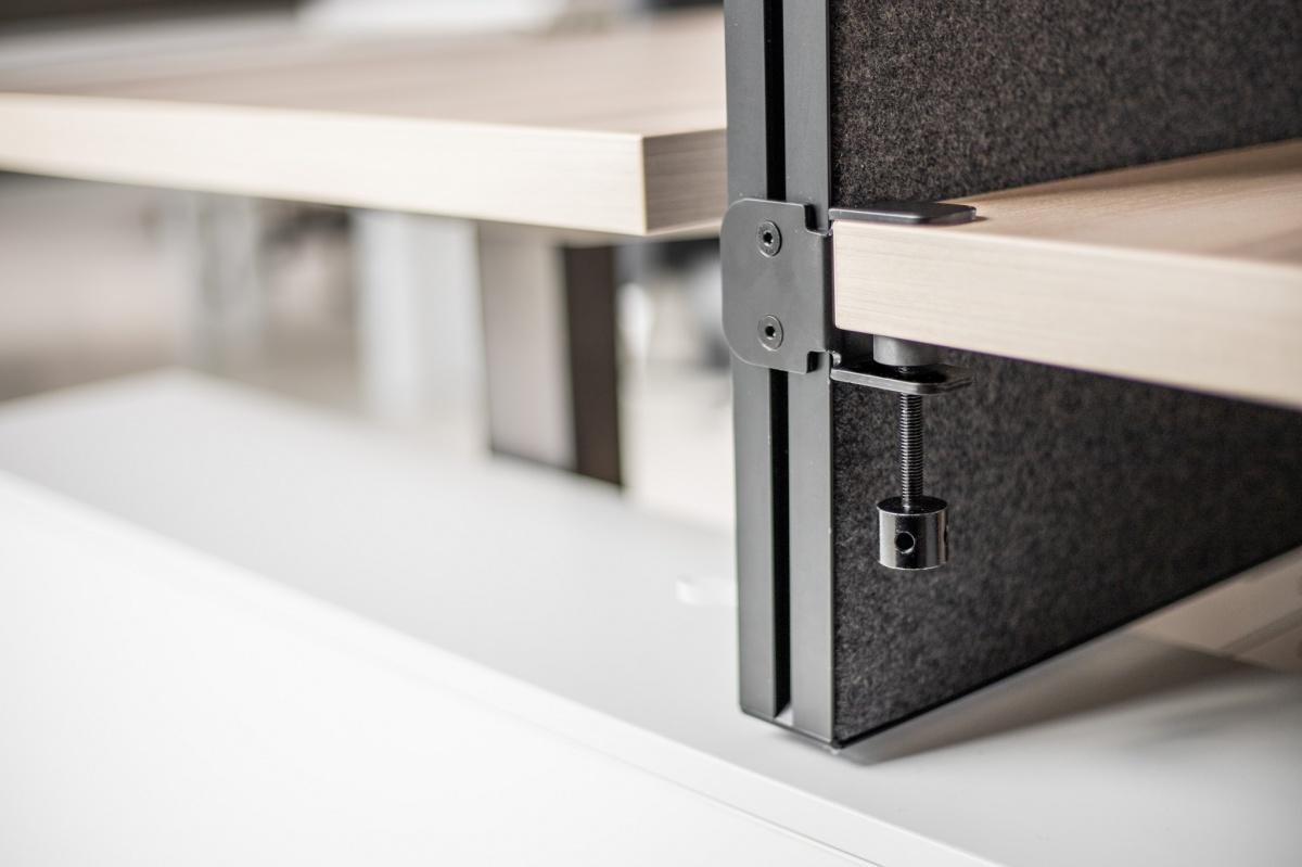 Desk clamp left / right