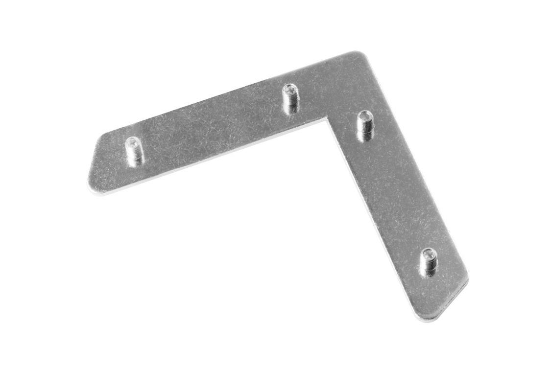 Lockset heavy single plate