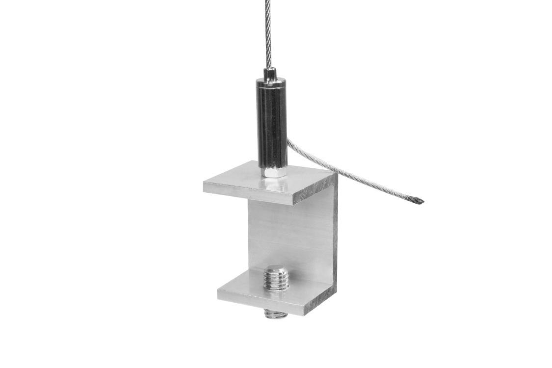 Ceiling mount slim adjustable